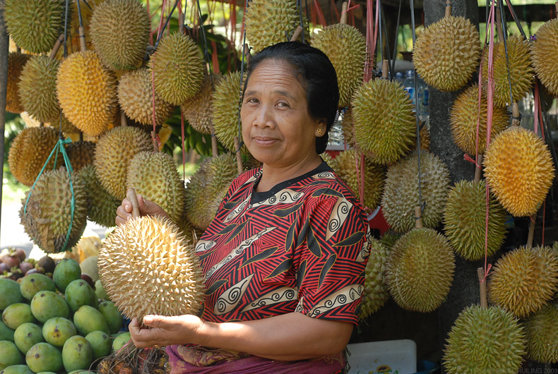 durian. photo by Rik Schuiling