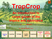 to TropCrop start screen
